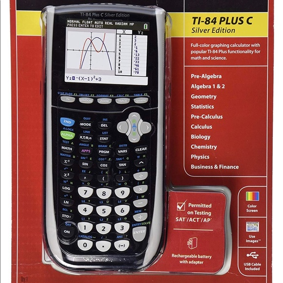 TI -84 plus C Silver Edition Texas Instrument